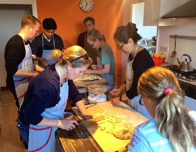 Italian cookery lesson