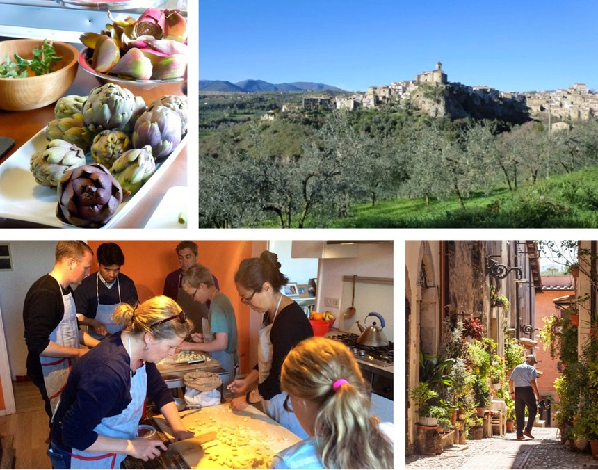 Rome cooking classes day trips